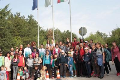 """ТД""""Сърнена гора """" проведе общоградски туристически поход"""