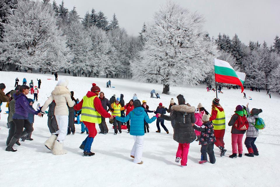 Детски зимен празник на х.Бузлуджа