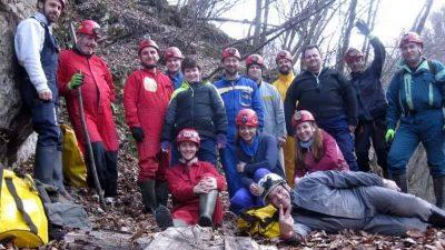"""Експедиция в пещера """"Юбилейна"""" – 24 – 26 януари 2020"""