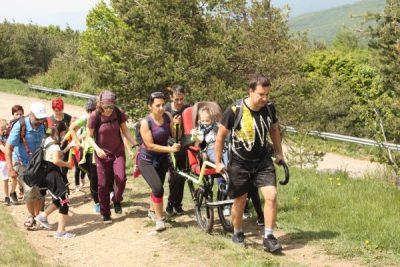 """ТД""""Сърнена гора"""" подкрепя проект за адаптирано движение и туризъм за деца и младежи с двигателни дефицити"""