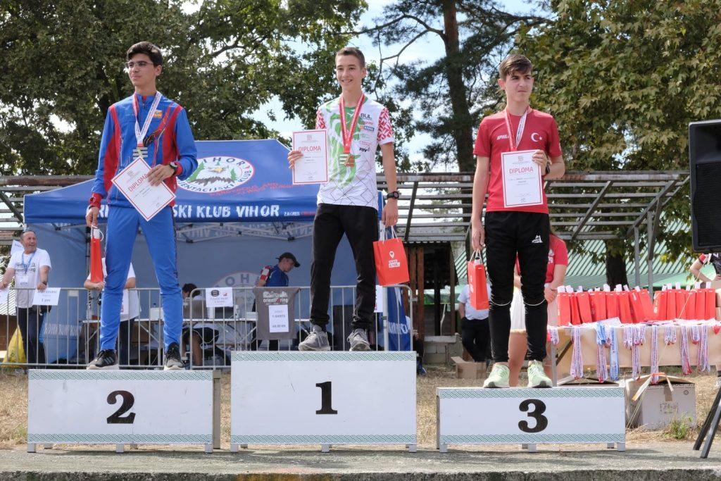 Два златни медала от Балканиадата по Ориентиране